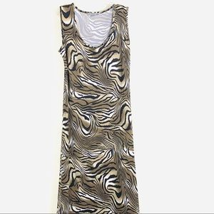 NY Collection Stretch Long Maxi Dress Size XL New